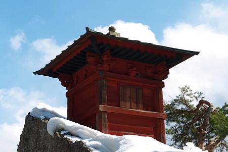 2011.03.09 山寺 五大堂 納経堂