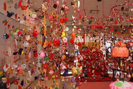 2011.03.11 村山市 雛のつるし飾り
