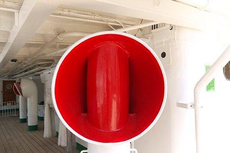 2011.04.05 みなとみらい 帆船日本丸 きせる型通風筒