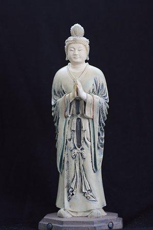2010.11.15 法華堂の月光菩薩 立像 海洋堂制作