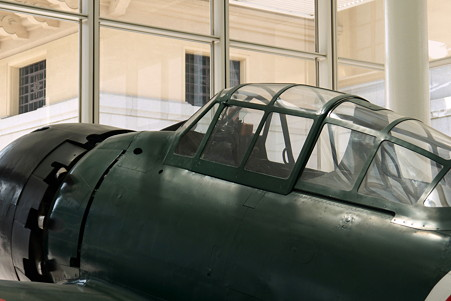 2011.04.11 靖国神社 ゼロ戦 52型 操縦席