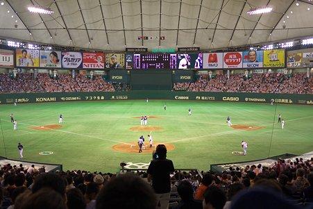 2011.07.18 水道橋 Tokyo Dome ネット裏