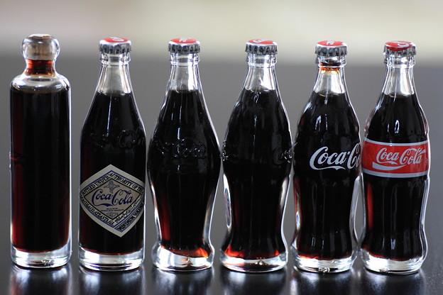 2001.12 ハワイ Coca-Cola 100周年記念ミニボトル