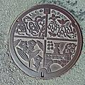 Photos: 朝来市(あさご)のマンホール