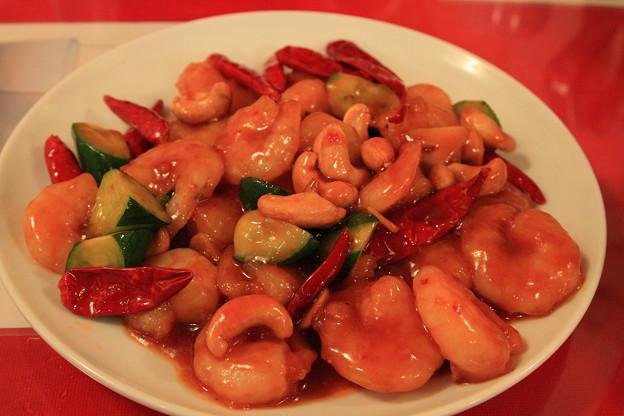 Photos: 四五六菜館「唐辛子と海老炒め」