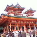 Photos: 平安神宮本殿前の神殿!?