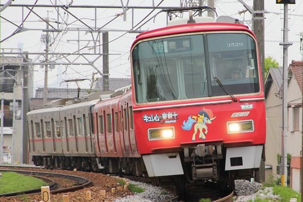 名鉄3500系3529F ポケモン2012ケルデオ号