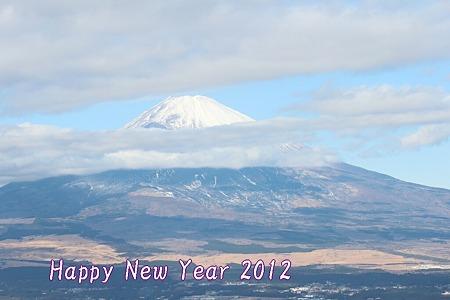2012年1月3日 富士山