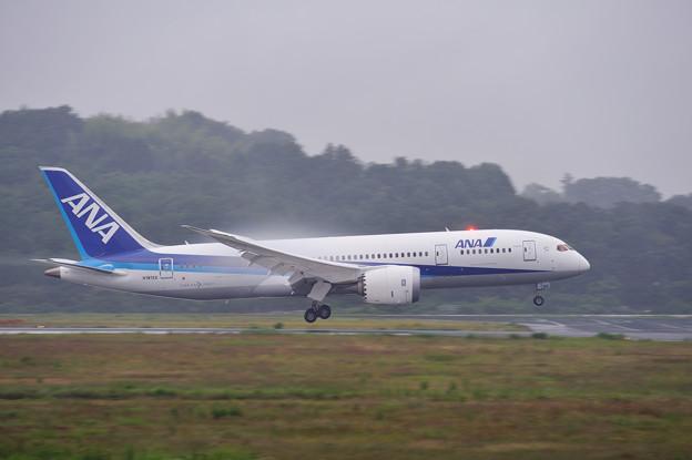 岡山空港 B787EX