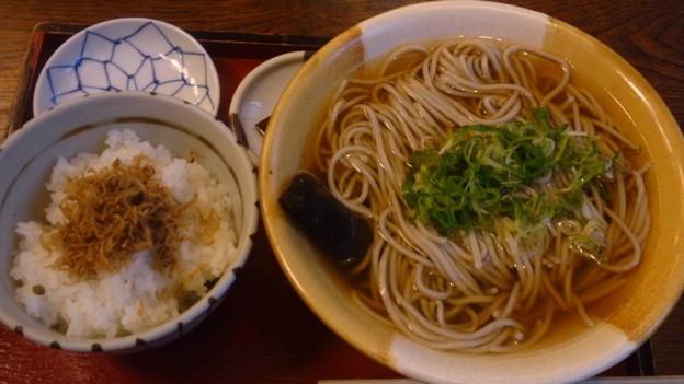 Photos: 松葉北店のにしんそばとちり...