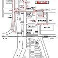 写真: 平成22年度西之町屋台運行地図13日