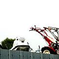 耕運機も今やレジャーの道具
