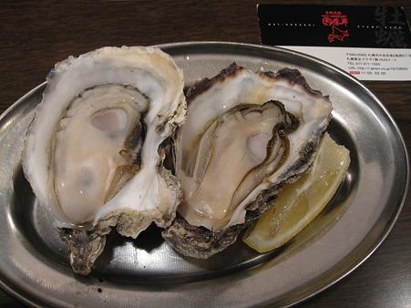 厚岸産焼き牡蠣
