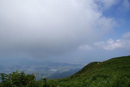 雲の観る街