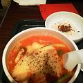 太陽のトマト麺なう