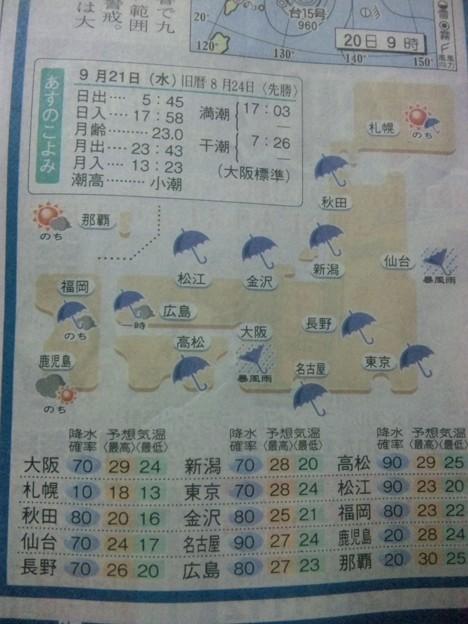 の 天気 の 明日 大阪