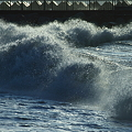 飛沫 (2)   冬の日本海