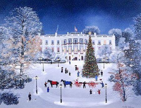 ドラクロワ『La Maison Blanche sous la neige』