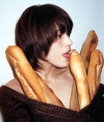 パンと上原多香子