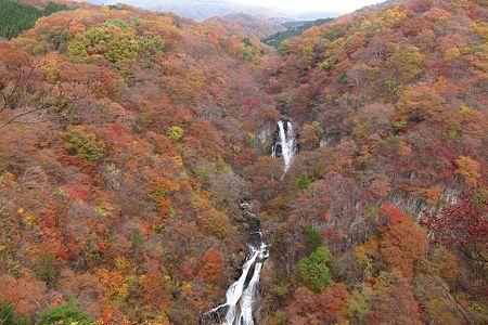 20111109-104825 霧降の滝