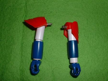 バンダイ 「ハイコンプリート モデル」『ライディーン』 腕部通常&収納状態