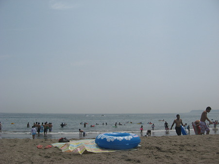三浦海岸なう