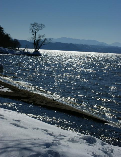 Photos: 光る猪苗代湖