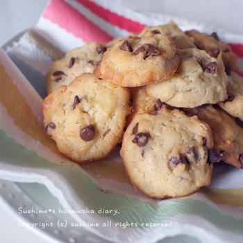 チョコチップクッキー*