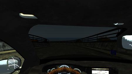 Mercedes-Benz S600車内1